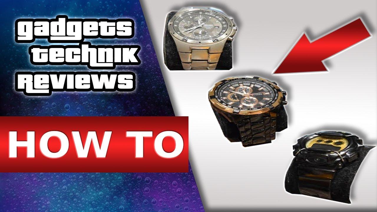 uhrenbatterie wechseln batteriewechsel uhr armbanduhr ffnen auch ohne werkzeug youtube. Black Bedroom Furniture Sets. Home Design Ideas