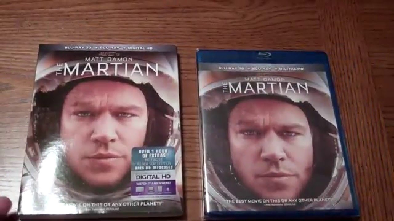 Download The Martian Unboxed - Unboxing the Blu-ray 3d + Bluray + Digital HD