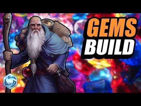 Deckard Cain  gem build!  Heroes of the Storm PTR