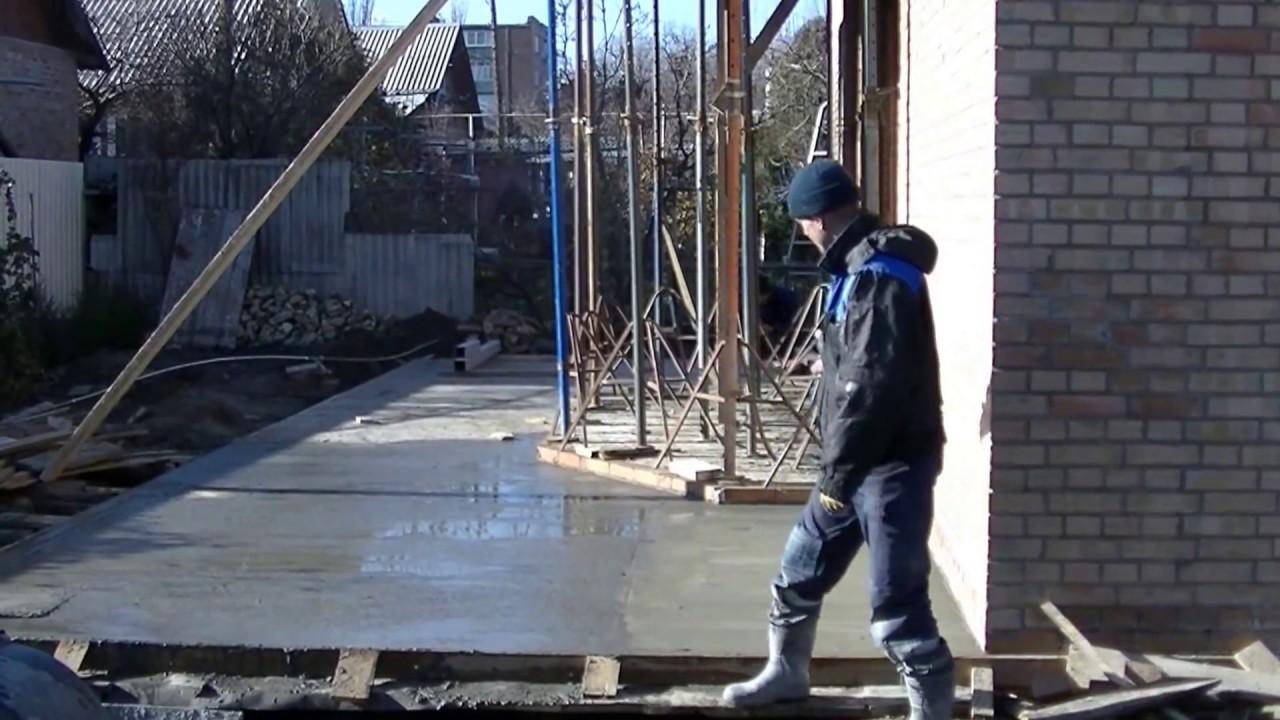Типовой договор на заливку бетонной площадки