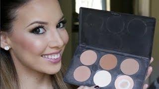 How to : Highlight and Contour with Powder