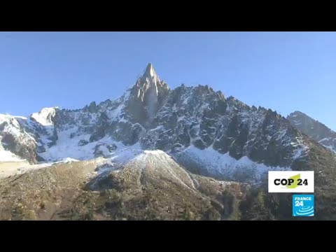 Climate change is melting the French Alps