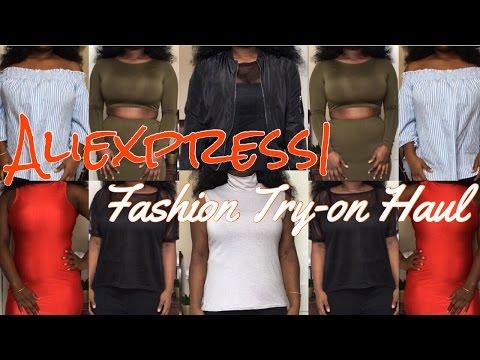 Aliexpress | Fashion Try-on Haul 1