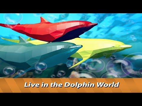 World of Dolphins   dive in ocean life simulator!-Offered By Wild Animals World-Android