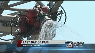 Last Day For Canyon County Fair; Lions Booth Ramps Up For Rodeo
