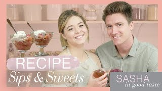 Perfect Peach Recipes  | Sasha In Good Taste | Sasha Pieterse Sheaffer