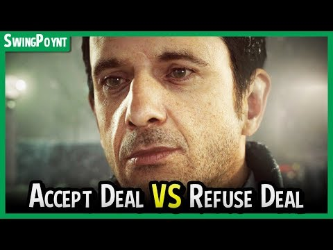 Detroit Become Human - The Perkins Deal - ACCEPT DEAL vs REFUSE - Markus Demonstration Route