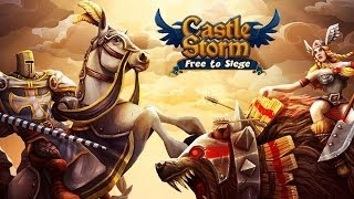 CastleStorm - Free to Siege Android HD GamePlay Part 1 [Game For Kids]