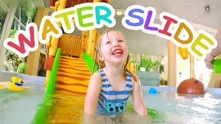 Water Slides for Kids with Spelling - Indoor Family Water Park Fun thumbnail