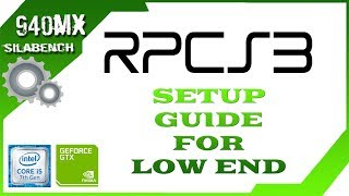 RPCS3 | Setup guide for Low End | Asura