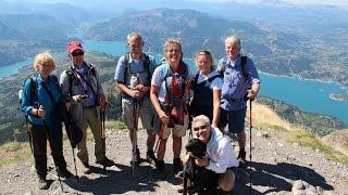 Gps Wandelweek in de Franse Alpen met Camping la vieille Ferme en gps wijzer