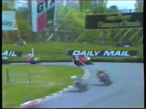Clubmans Motorcycle Racing Brands Hatch 1984