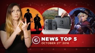 Destiny Proposal & Red Dead Redemption and Nintendo Switch Reveals - GS News Top 5