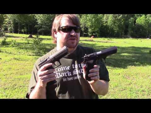 Old & New: the Israeli IMI/IWI Jericho 941 Pistol At The Range