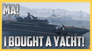 Ma! I bought a Super Yacht! - GTA V's New Executives Update!