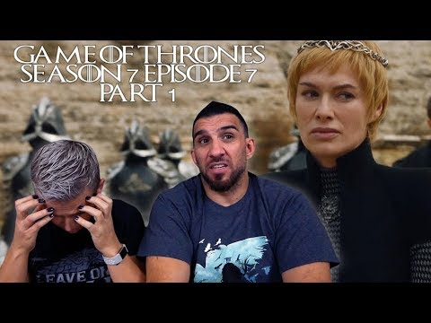 Game of Thrones Season 7 Episode 7 'The Dragon and the Wolf' Part 1 REACTION!!