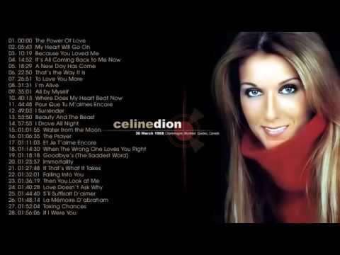 Kumpulan Celine Dion - Terpopuler Di Era 2000an