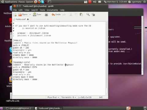 Configuring SAMBA in Ubuntu - Part 1