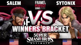 FPS2 Online - Salem (Snake) vs Sytonix (Ken) - SSBU