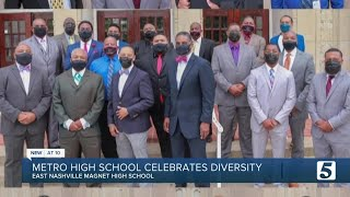 Metro high school celebrates diversity in its staff