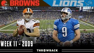 The Most Epic UNEXPECTED Shootout! (Browns vs. Lions, 2009)