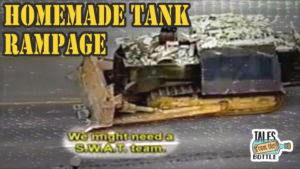 Killdozer How A Man Made His Own Tank Tales From The Bottle Youtube