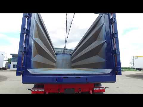 New 75 cu yd Newton Steel Tipping Trailer - The Lightest