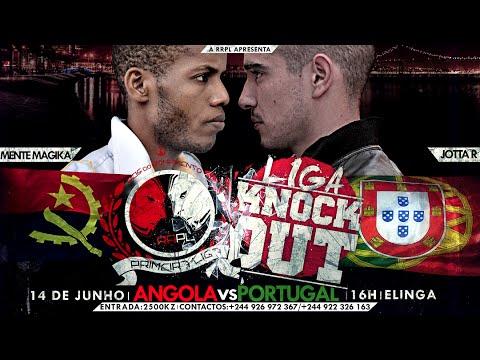 """#RRPL Apresenta Mente Magika VS Jotta R """"Angola VS Portugal"""" VÍDEO OFICIAL"""