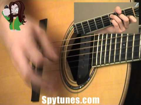 Starman Rhythm Guitar Lesson