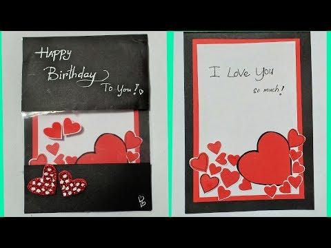 Best Friend Cards For Birthday / Birthday Cards Handmade Easy / DIY Friendship Day Card