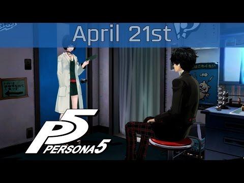 Persona 5 - April 21st: Thursday Walkthrough [HD 1080P]