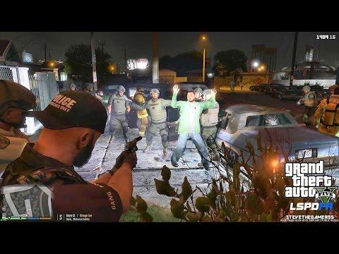 GTA 5 LSPDFR 0.3.1 - EPiSODE 174  - LET'S BE COPS - GANG UNIT (GTA 5 PC POLICE MODS)