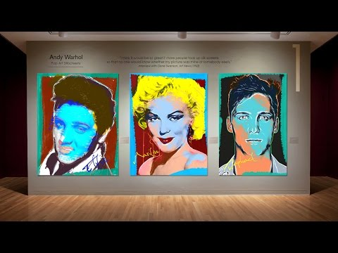 Photoshop Tutorial: Part 1 - Create Andy Warhol-style, Pop Art Portraits from Photos! (Style #3)