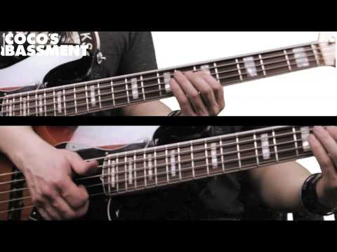 How to Play Speed Demon by MJ - Slap Bass Tutorial (Crazy Double Thumping)