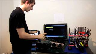 nVIDIA GeForce GTX 560 Ti 3D Vision Benchmarks Linus Tech Tips