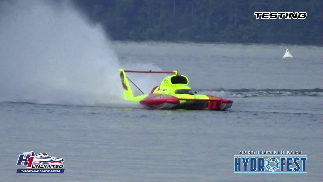 2019 Guntersville Hydrofest Sunday Testing