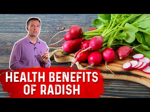 Health Benefits of the Amazing Radish