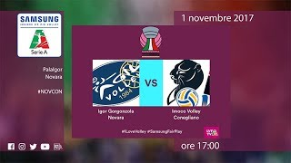 Novara - Conegliano | Highlights | Supercoppa Samsung Galaxy 2017