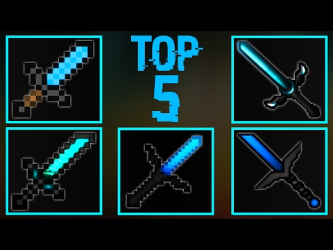 TOP 5 MINECRAFT PVP TEXTURE PACKS!(FPS BOOST/NO LAG! 1.8/1.9/1.10/1.11)