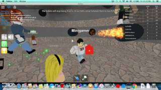Playing Epic Minigames In Roblox With My friend!