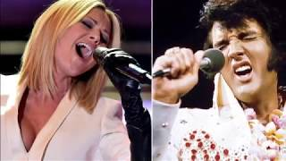 """HELENE FISHER with ELVIS PRESLEY IN DUO """"JUST PRETEND"""""""