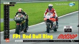 MotoGP 2017 Free Practice One FP1  Red Bull Ring – Spielberg AUSTRIA