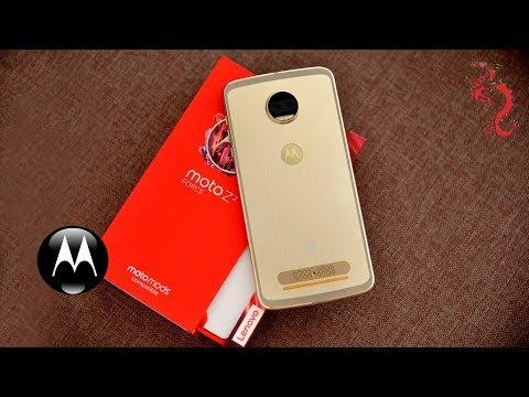 MOTO Z2 FORCE //Распаковка смартфона и знакомство с MotoMods