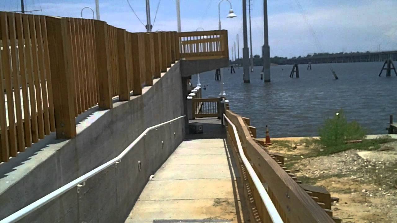 New fishing pier d 39 iberville ms youtube for Fishing in biloxi ms