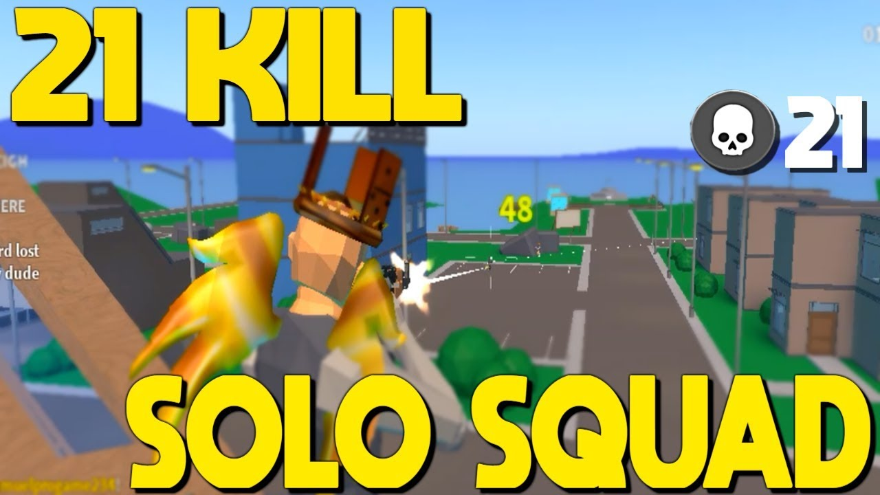 21 Kill Solo Squad Win In Strucid... (Roblox Fortnite ...