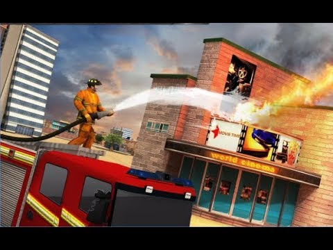 Airport firefighter simulator save game