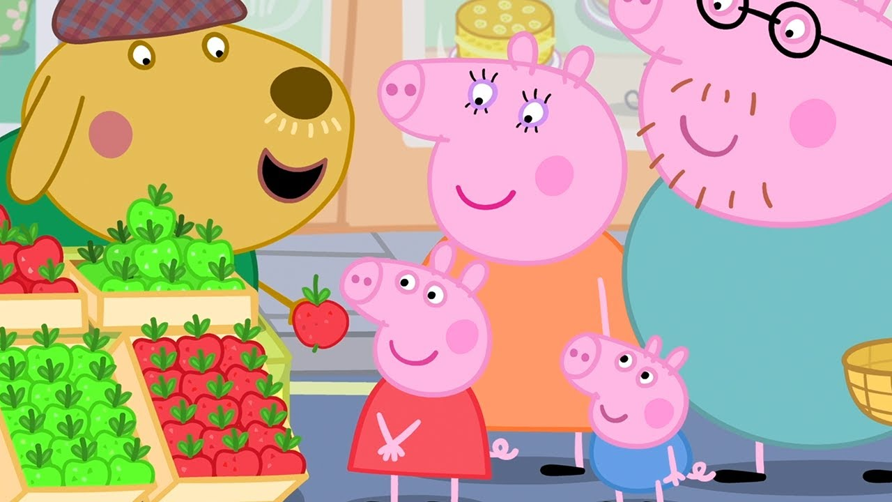 Peppa Pig Official Channel | Face Painting at the School Fete with Peppa Pig