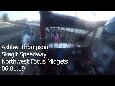Ashley Thompson NWFM at Skagit Speedway 06.01.19