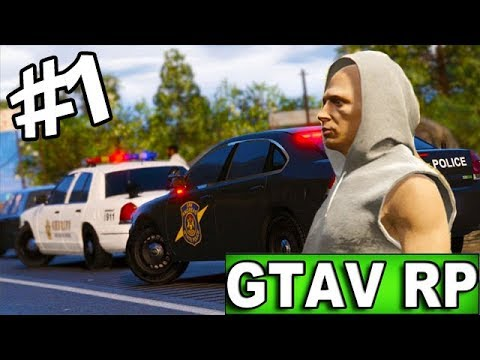 DAVID FLASH DANS LE CAMPS DES FLICS ? GTAV RP LIVE #1