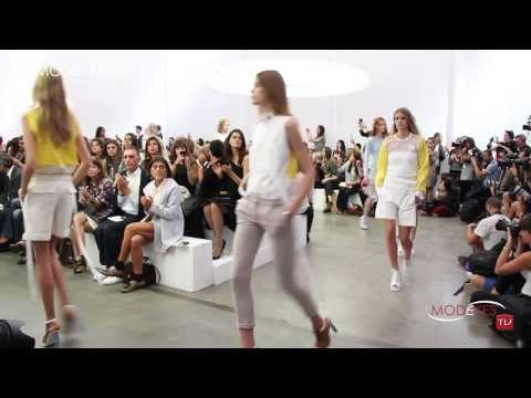 ICEBERG WOMEN FASHION SHOW SPRING SUMMER 2014 (Backstage - Model - Runway) FHD